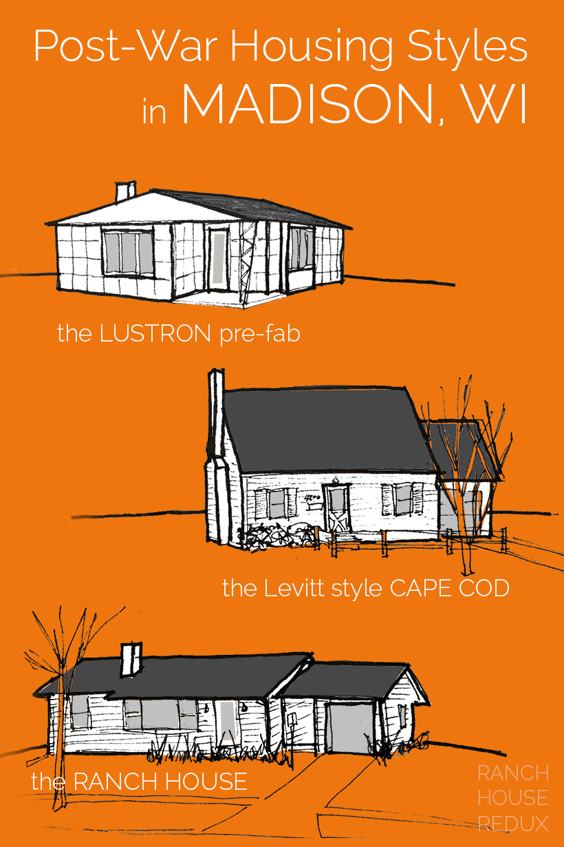 Post-War Housing Styles of Madison Wisconsin. Thanks for sharing!