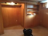 basement corner during 1
