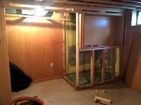 basement corner during 2