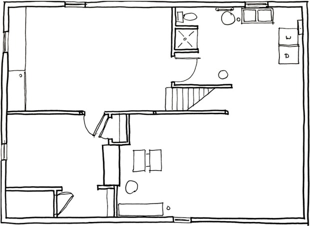 design basement floor plan