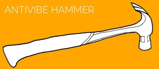 demolition tools: antivibe hammer