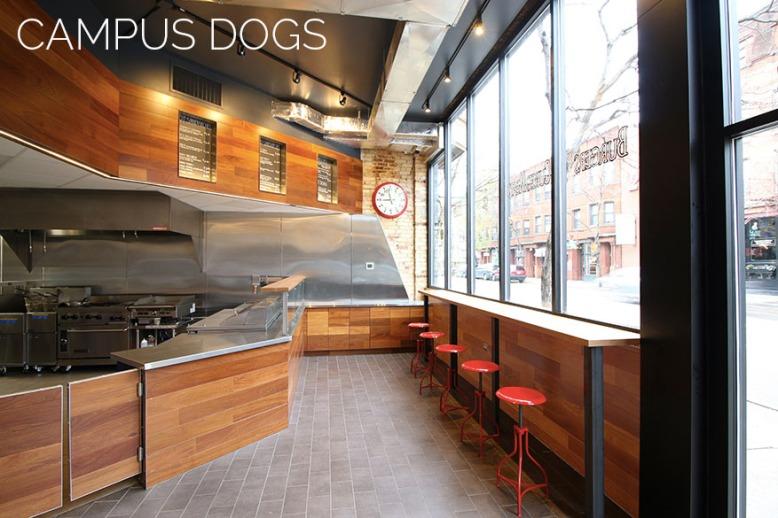 campus dogs restaurant
