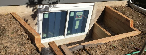 egress window header