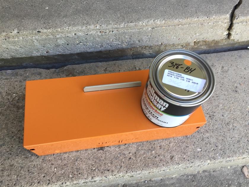 mailbox matching paint