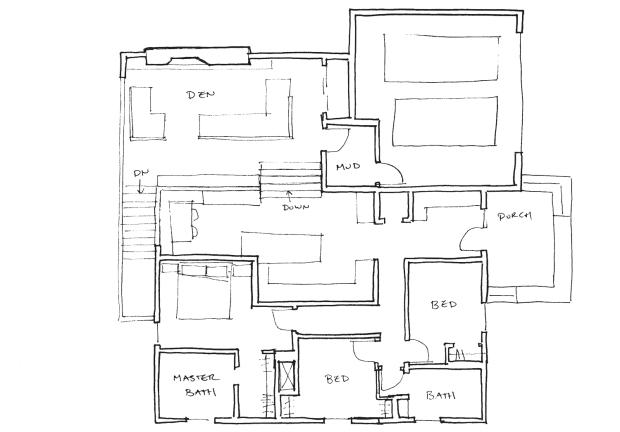 split main floor