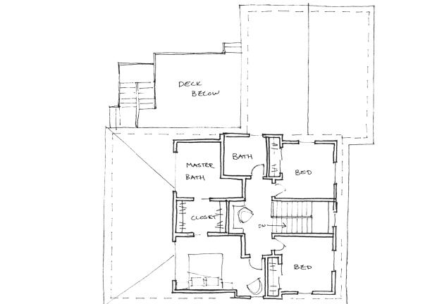 up upper floor