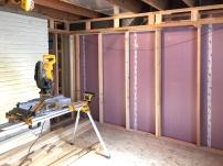 basement bedroom soffit 2