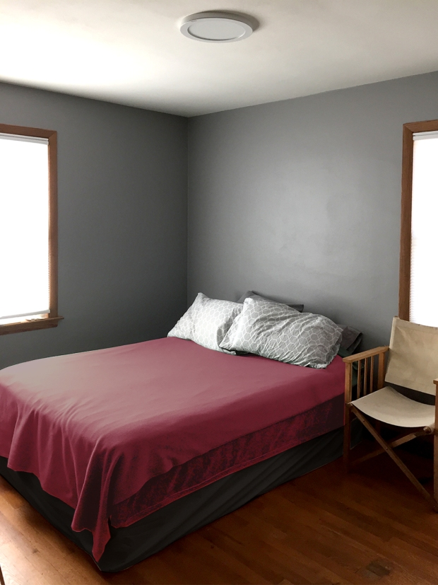 second bedroom painted