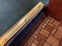 removing carpet - transition strip